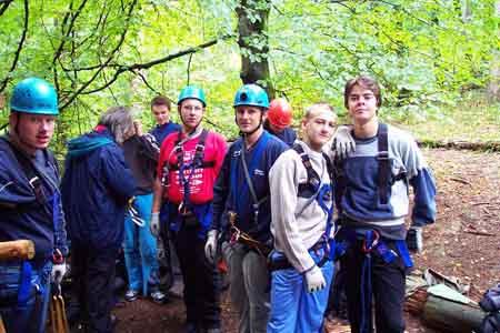 Kletterausrüstung Baum : Erlebnispädagogische klassenfahrt albergo